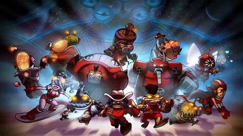 awesomenauts video games wallpapers hd desktop
