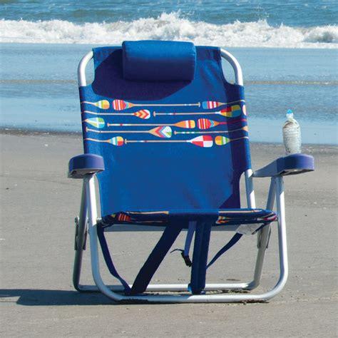 kirkland signature backpack beach chair  blue costco uk