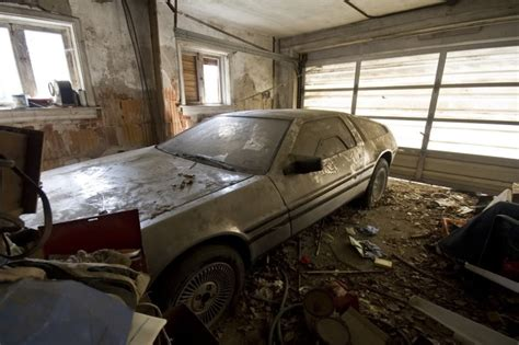 An Abandoned Delorean Rp By Dch Paramus Honda Team Leader