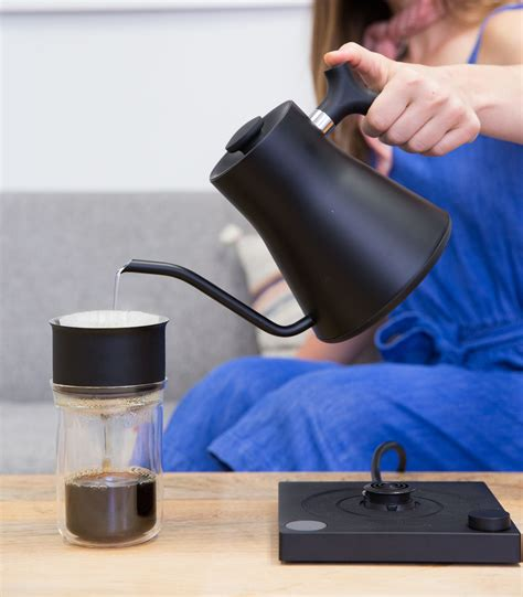 electric ekg kettle coffee stagg fellowproducts desk tea cup