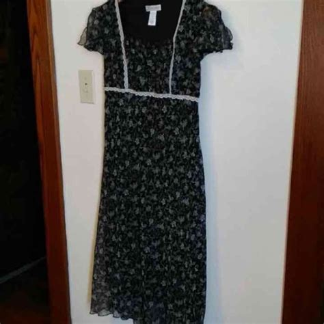 dress barn black and white dress dress barn black and white floral maxi dress from didi s