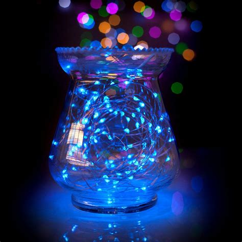 ft led blue waterproof micro fairy string lights