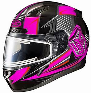 HJC CL 17 Womens STRIKER HELMET w ELECTRIC LENS 2016