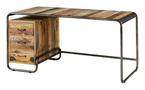 am pm canapé bureau vintage en bois recyclé