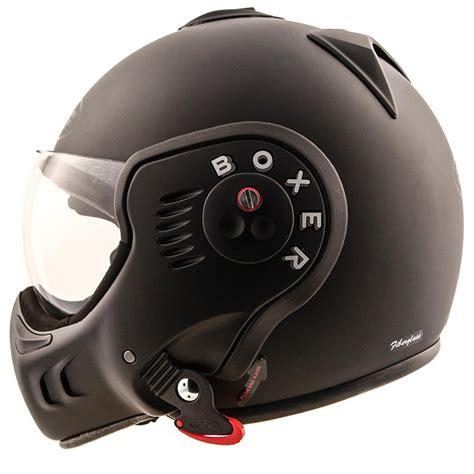 motorcycle helmet modular ro5 boxer v8 full black dach matt black