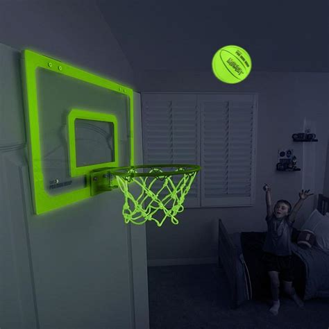 glow   dark indoor basketball hoop gadget flow