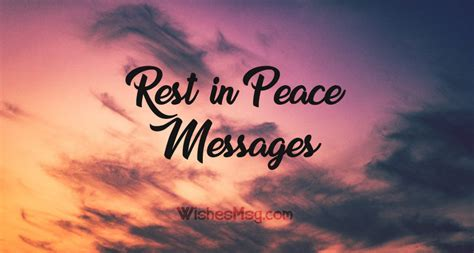 rest  peace messages heartfelt rip quotes wishesmsg