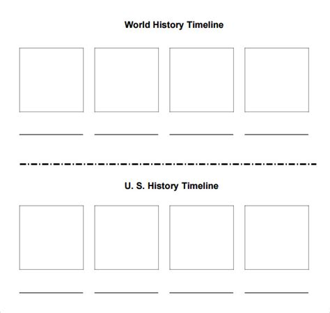blank timeline template 8 sle blank timeline templates sle templates
