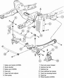 Front Wheel Parts Diagram 4x4 97 Ford F 250