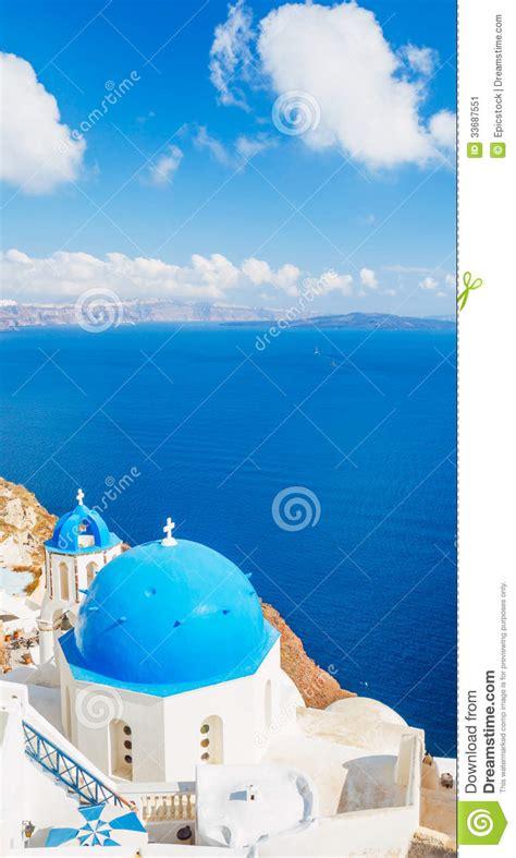 Santorini Island Greece Stock Image Image 33687551