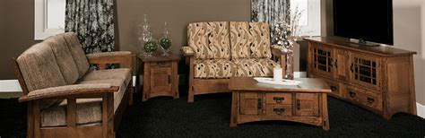 amish living room furniture amish living rooms amish