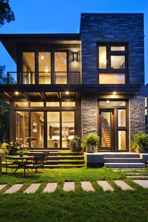 Image result for mid century two story homes House