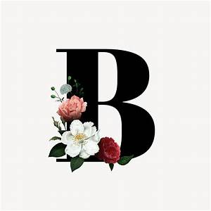 Templates For Website In Php Free Download Floral Letter B Font Free Stock Illustration 582969