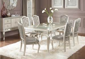 sofia vergara paris chagne 7 pc dining room dining