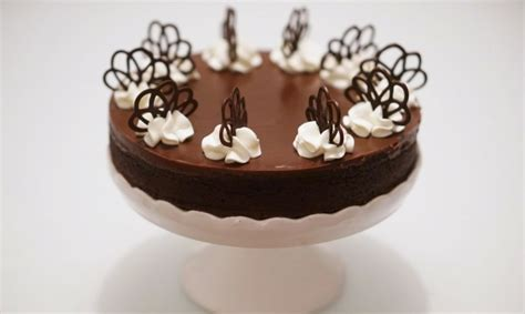 deco gateau au chocolat decoration gateau chocolat simple
