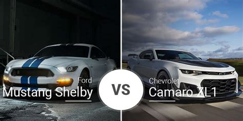 Gt350 Vs Camaro by Ford Mustang Shelby Gt350 Vs Chevy Camaro Zl1
