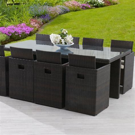 chaise et table de jardin table de salon de jardin en resine bricolage maison et