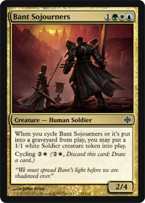 alara reborn bant sojourners five with flores five