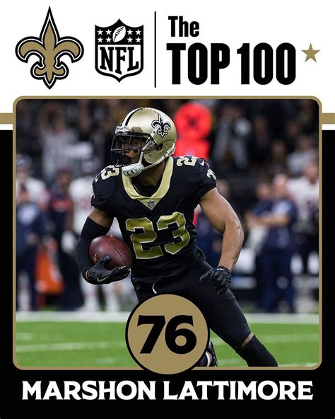 New Orleans Saints: No. 76 on the #NFLTop100 Players of ...