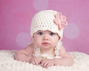 Baby Bettset Mädchen : cream baby hat newborn baby girl hat flapper beanie flapper ~ Watch28wear.com Haus und Dekorationen