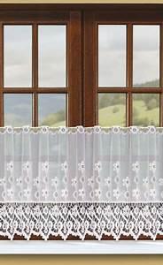 Gardinen Meterware Online Shop : meterware scheibengardine stangendurchzug jacquardstoff wei elena scheibengardinen ~ Markanthonyermac.com Haus und Dekorationen