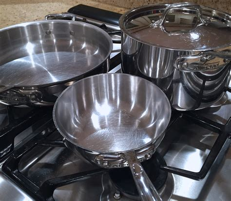 cookware stainless steel clad