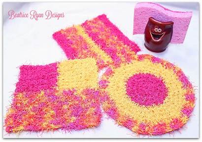 Kitchen Patterns Crochet Cheery Scrubby Beatriceryandesigns Ravelry