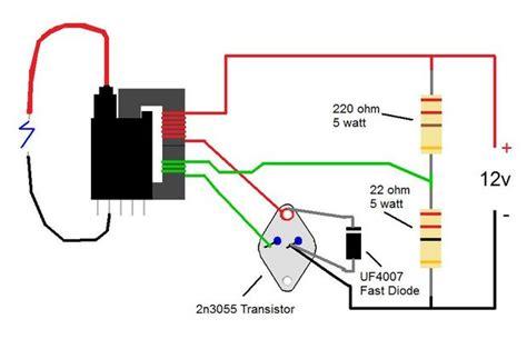 2n3055 flyback transformer driver for beginners 3