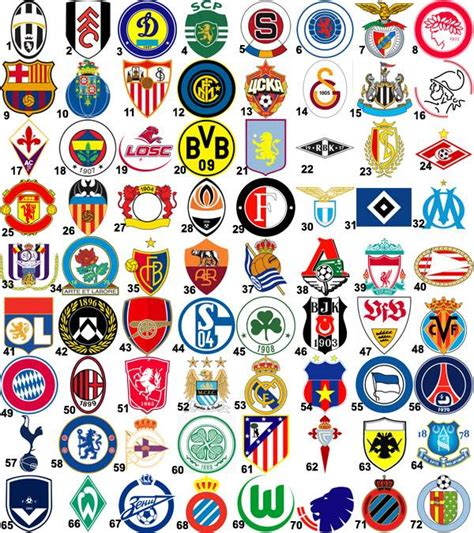 top uefa team badges quiz by frozenspark