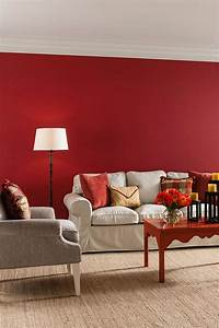 les 25 meilleures idees de la categorie salon rouge sur With couleur peinture mur exterieur 4 g2h habitat