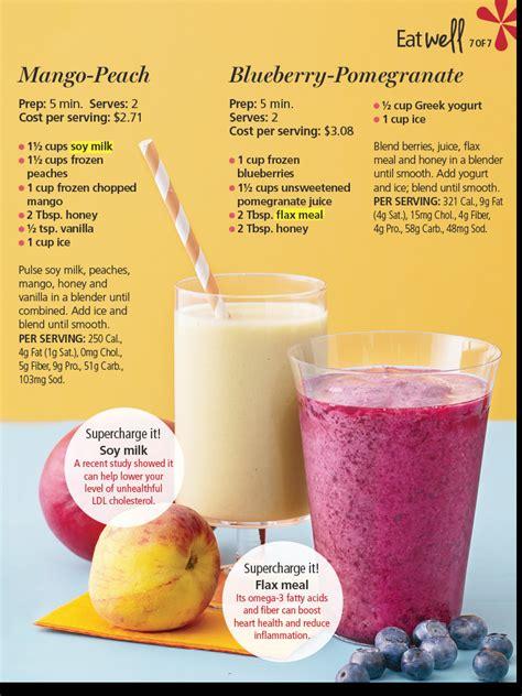 fruit smoothie recipes smoothies health pinterest