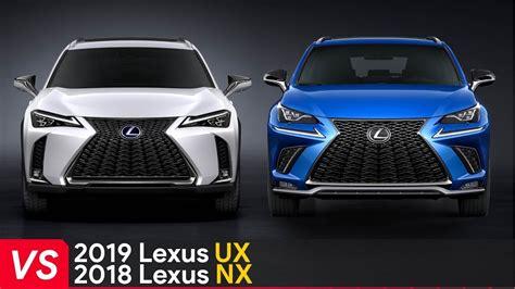lexus ux  lexus nx cheaper