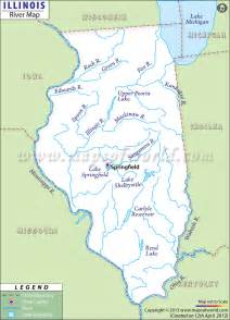 Illinois River Map