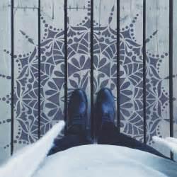 Geometric Mandala Stencil