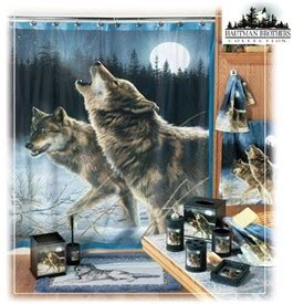 Wolf Bathroom Accessories by Howling Wolf Bath Accessories For The Home Bathroom