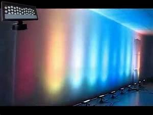 Dj Led Wedding Uplight Outdoor Wall Light 36 3w Panel Wash