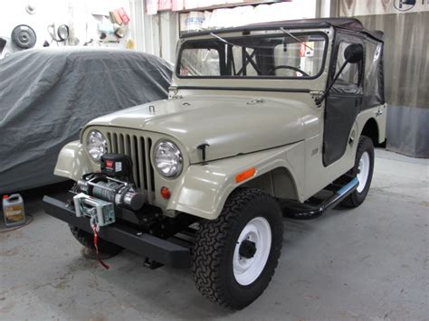 first jeep ever made 1965 cj5 jeep completed american auto restoration
