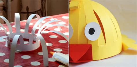 animal paper hat diy crafts handimania