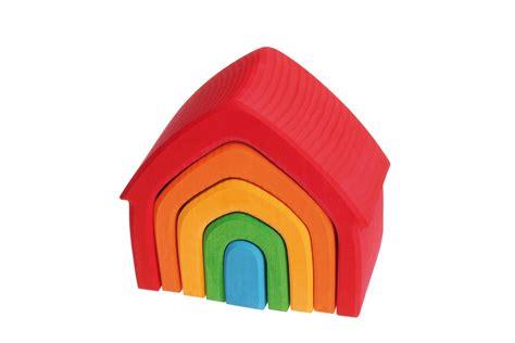 maison arc en ciel jouet grimm s