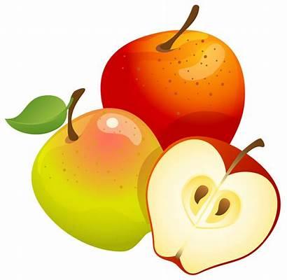 Apples Clipart Cliparts Fruit Apple Painted Appels