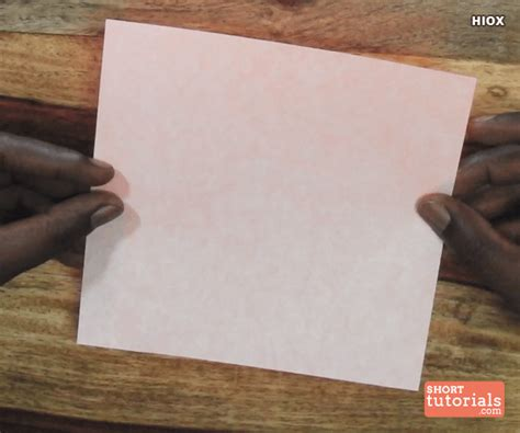 How To Make A Paper Boat Procedure by Paper Knife Boat Step 2