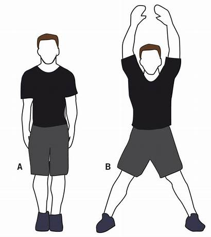 Jumping Jacks Jack Clipart Exercise Doing Clip