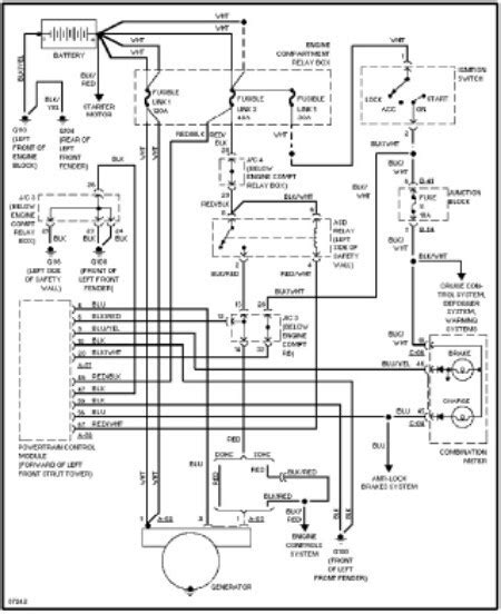 Toyota Camry Stereo Wiring Schematic Diagram