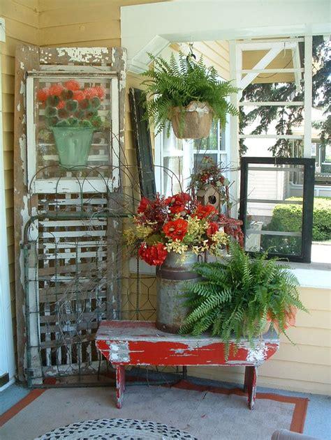 summer porch ideas summer vignette front door porch summer decor pinterest