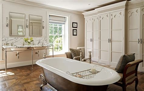 Period Bathroom Mirrors by Traditionally Trendy The Stunning Bathroom Of A