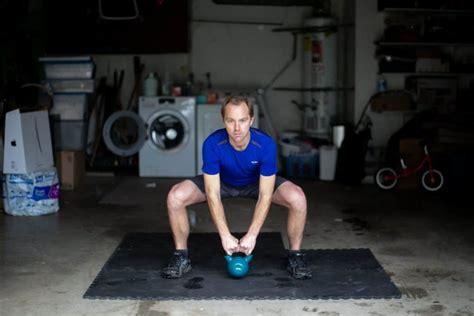 heavy kettlebell workout complete swing kettlebells