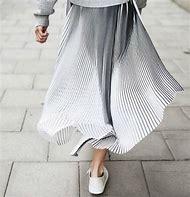 Pleated Skirt Wind