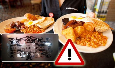 Wetherspoon food rip-off revealed: Chain charging nearly ...