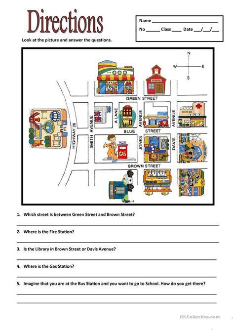 directions worksheet  esl printable worksheets