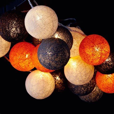 boites de rangement bureau guirlande lumineuse boules coton coloré bolette
